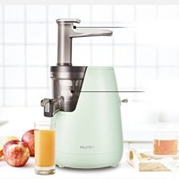 HUROM Slow Juicer Warna Hijau Blender Aneka Jus Original Import Korea