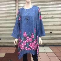 CLLAIRE Baju Muslim Tunik Blus Gamis Waka Jumbo Grosir