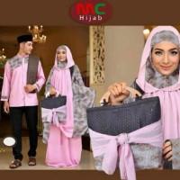 baju koko pria+mukena wanita abida/busana muslim hijab terbaru gamis