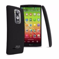 murah Imak Cowboy Quicksand Ultra Thin Hard Case for LG G Flex 2 Blac