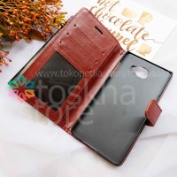 Samsung A7 2016 Leather Flip Wallet Case Cover