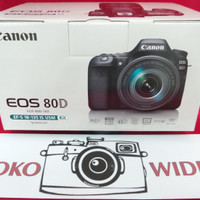 Camera CANON EOS 80 D with lens EF-S 18-135  IS NANO USM