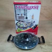 murah snack maker 19 lubang cekung takoyaki 19 holes takoyak maker pa