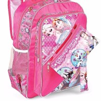 terbaru Jual 102DSC tas sekolah ransel anak perempuan k Frozen Anna E