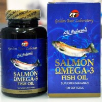 best seller GOLDEN BEAR Salmon Omega 3 Fish Oil Minyak Ikan 100