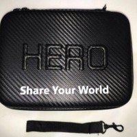 Tas/Case Waterproof Untuk Gopro & Xiaomi Yi Small Size (S) Berkualitas