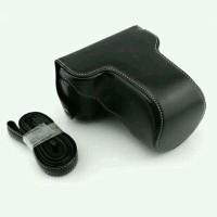 Leather Case Kamera Mirrorless for Fujifilm X-M1 X-A1 X-A2 - H Murah