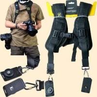 Double Quick Strap / Tali Slempang Ganda untuk Kamera SLR DSLR Limited
