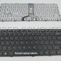 Keyboard Laptop Lenovo IdeaPad 100 14IBD Hitam