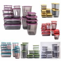 Jual Calista Otaru Smoke Sealware 14pcs Premium Food Container Toples Wadah Murah