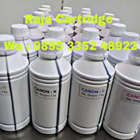 Tinta Canon hp 1liter tinta printer Cyan ,Yellow ,Magenta ,Black