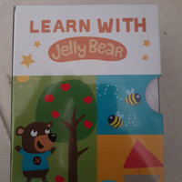 Buku anak anak english toodler book - Learn with Jelly Bear