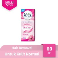 Veet Normal 60 gr (Lotus Milk & Jasmine)
