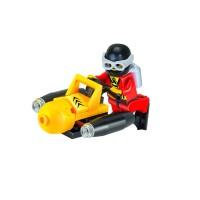 City Scuba Diver Penyelam Minifigure Minifig Lego Bootleg