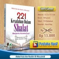 Buku 221 Kesalahan Dalam Shalat Beserta Koreksinya Darul Haq