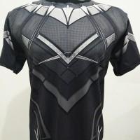 Jual Kaos SUPERHERO Blackpanther avengers civil war black panther civilwars Murah