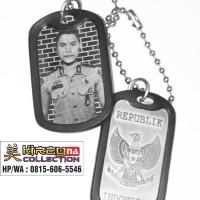 Kalung army dogtag - Kalung foto - Kalung Tentara-Kalung TNI