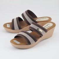Harga premium lolinda atm528 sandal wanita sol karet sandal wedges | Pembandingharga.com