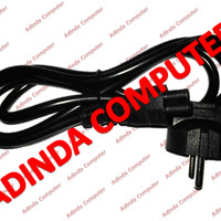 Kabel Power Adaptor Charger Laptop (Bulat) Standar