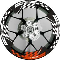 Decal Stiker Velg Yamaha Nmax Lebar Versi Racing