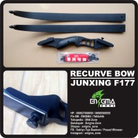 Recurve Bow Junxing F177, Busur, Panah, Panahan, Archery, EnigmaZone