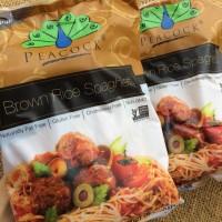 Peacock Brown rice spaghetti