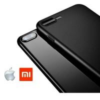 Super Slim Black Matte Case For Iphone 5/6/7/8 & Xiaomi Smartphone | P
