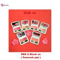 Red A Blush on - Pemerah pipi - Red A kosmetik