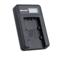 Sony battery charger np fv50 / fv100 cocok untuk kamera sony pxw x70