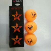 Bola pingpong/ tenis meja Butterfly isi 3 pcs