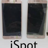 LCD Samsung Note 5 Rose Gold ORIGINAL PARTS - Include pemasangan