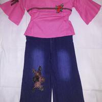 Stelan Levis Celana anak perempuan umur 4-5 tahun