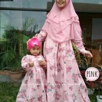 gamis couple ibu dan anak katun jepang ori terlaris