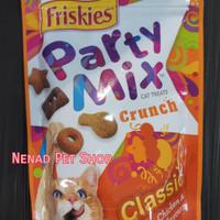 Friskies Party Mix Crunch 60gr/Snack Kucing Friskies/Makanan Kucing