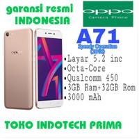 HP OPPO A71 NEW RAM 3/32 GARANSI RESMI INDONESIA