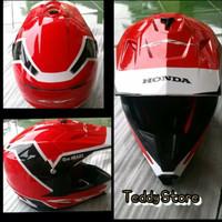 Helm Helmet Exclusive Trail Cross Motocross Honda CRF 150 150L Ori