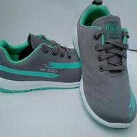 sepatu olahraga wanita dewasa running ando lindsey abu-abu (FC)