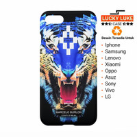 Marcelo Burlon Tiger case vivo v7 v5 iphone 6 7 8 x plus samsung s9 s8