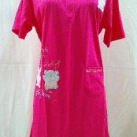 baju tidur wanita daster katun anne claire motif Murah