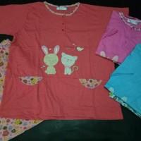 Baju Tidur Anne Claire Best Friend Tangan Pendek Celana Murah