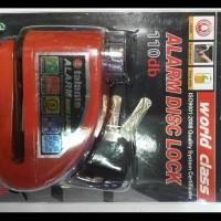 Dijual Kunci Alarm Pengaman Cakram / Kunci Disc Motor Murah