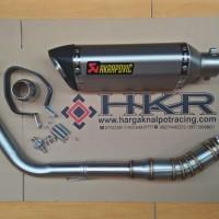 Knalpot Akrapovic Hexagonal Import New R15 V2,V3,VVA Full System