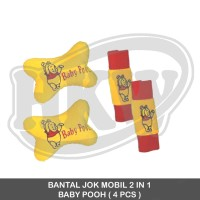 Bantal 2 in 1 Baby Pooh mobil AgyaAyla