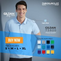sepatu Gildan Sport Shirt Polo Polos Original Grosiran Murah Jakarta