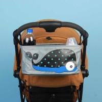 Tas Keranjang Perlengkapan Bayi untuk Stroller Kereta Dorong Bayi