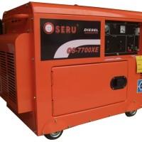 GENSET SILENT 5500 Watt OSERU OS-7700XE (Starter Elektrik)