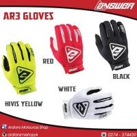 Sarung tangan, MX, Cross, Trail, Trabas, Grasstrack, ANSWER AR-3