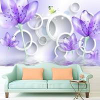 Wallpaper Custom Motif Floral 03