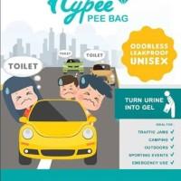 HYPEE PEE BAG - 1 Pcs (Kantong Urin Portable Purinoir Travel)