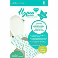 Hypee Disposable Toilet Seat Covers - 5pc